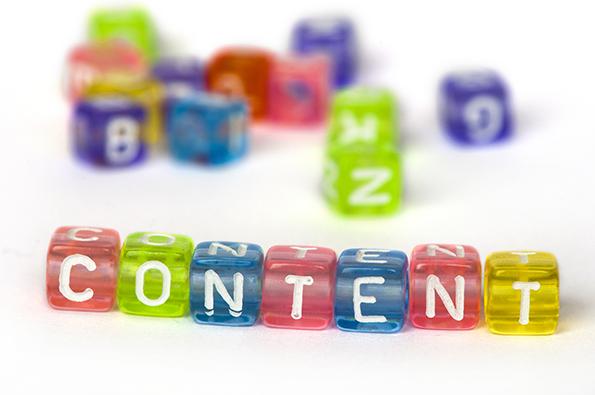 как наполнить сайт контентом