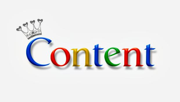 наполнение сайта авторским контентом